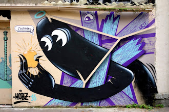 Sunday Street Art : Hobz - cité Champagne - Paris 20