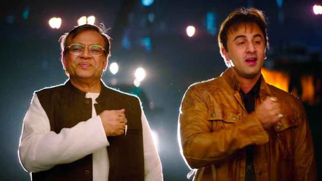 Ranbir Kapoor and Paresh Rawal from Sanju