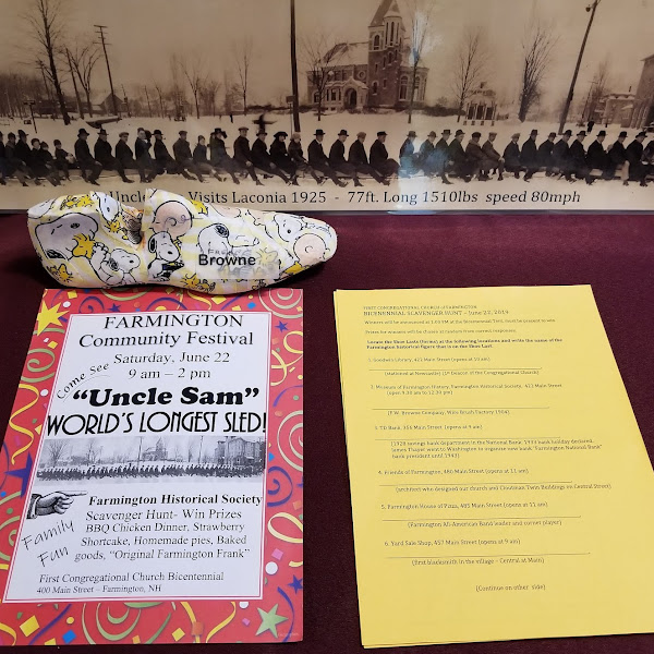 What's Been Happening At The Museum Of #FarmingtonNH History?