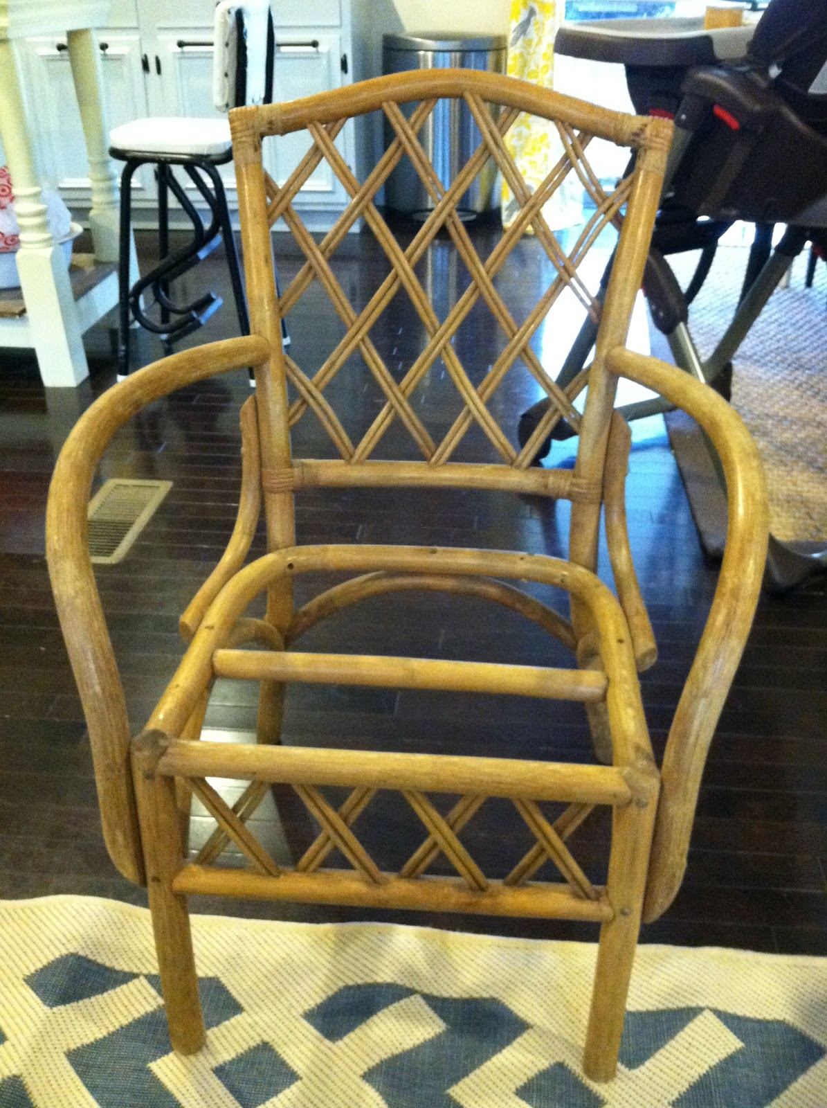 Where Can I Buy Cane For Chairs Home Theater Cheap Craigslist Makeover