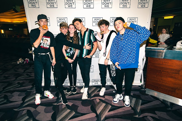 tamsin with why dont we boys