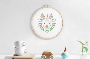 With Christmas around the corner - embroidery for the holidays