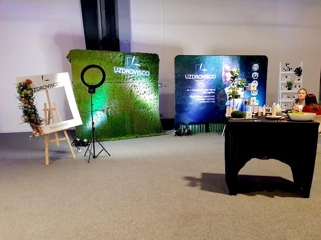 stoisko marki uzdrovisco - konferencja