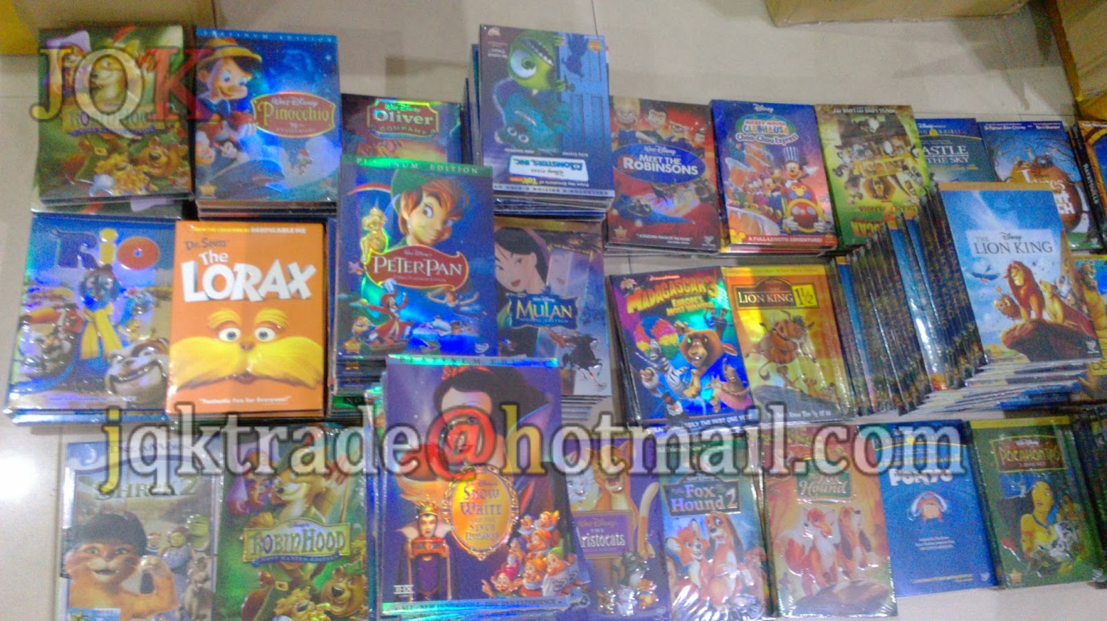 wholesale disney dvd movies with 3d slip cover wholesale