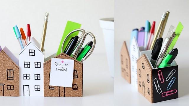 DIY Θήκες Οργάνωσης Γραφείου