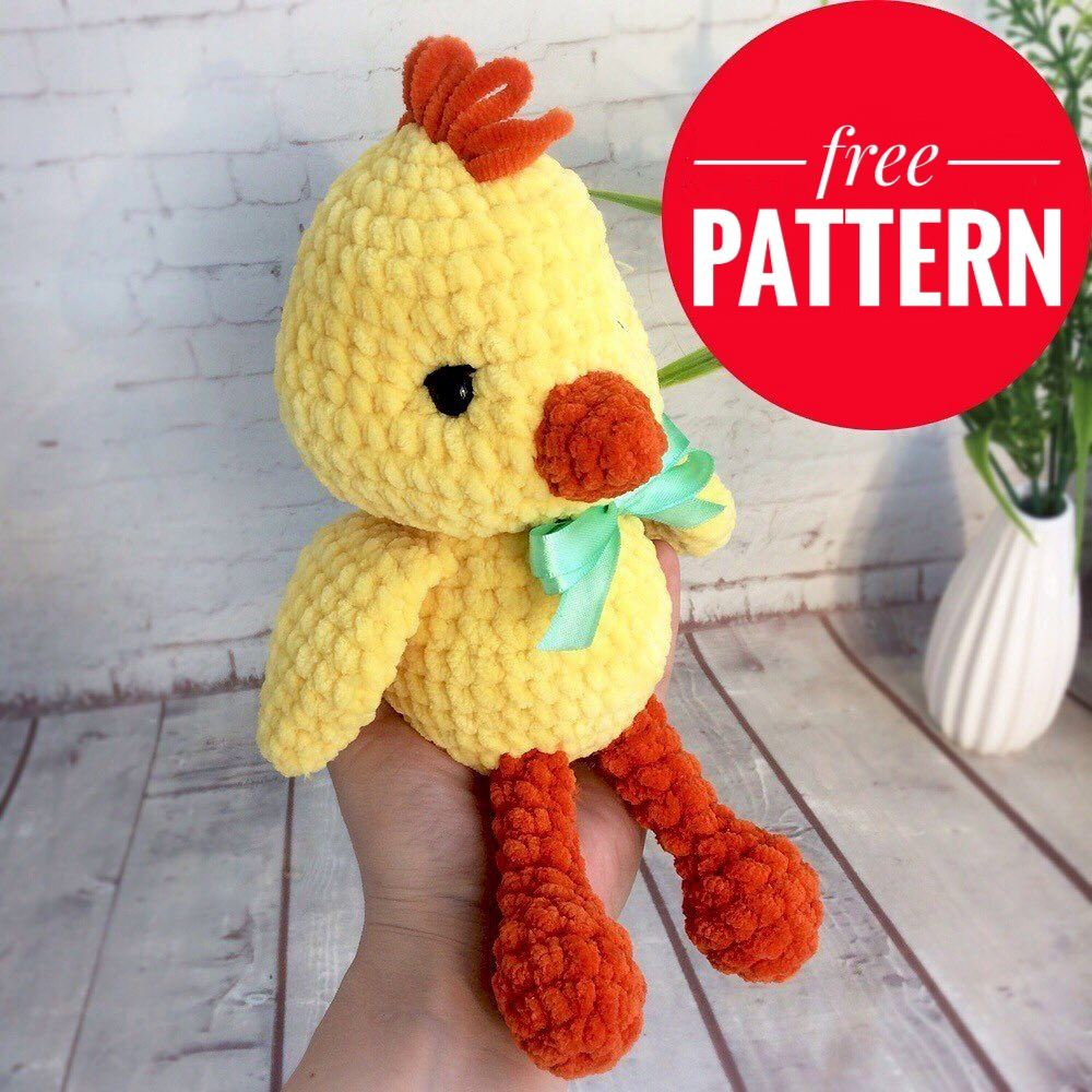 Crochet chick free pattern