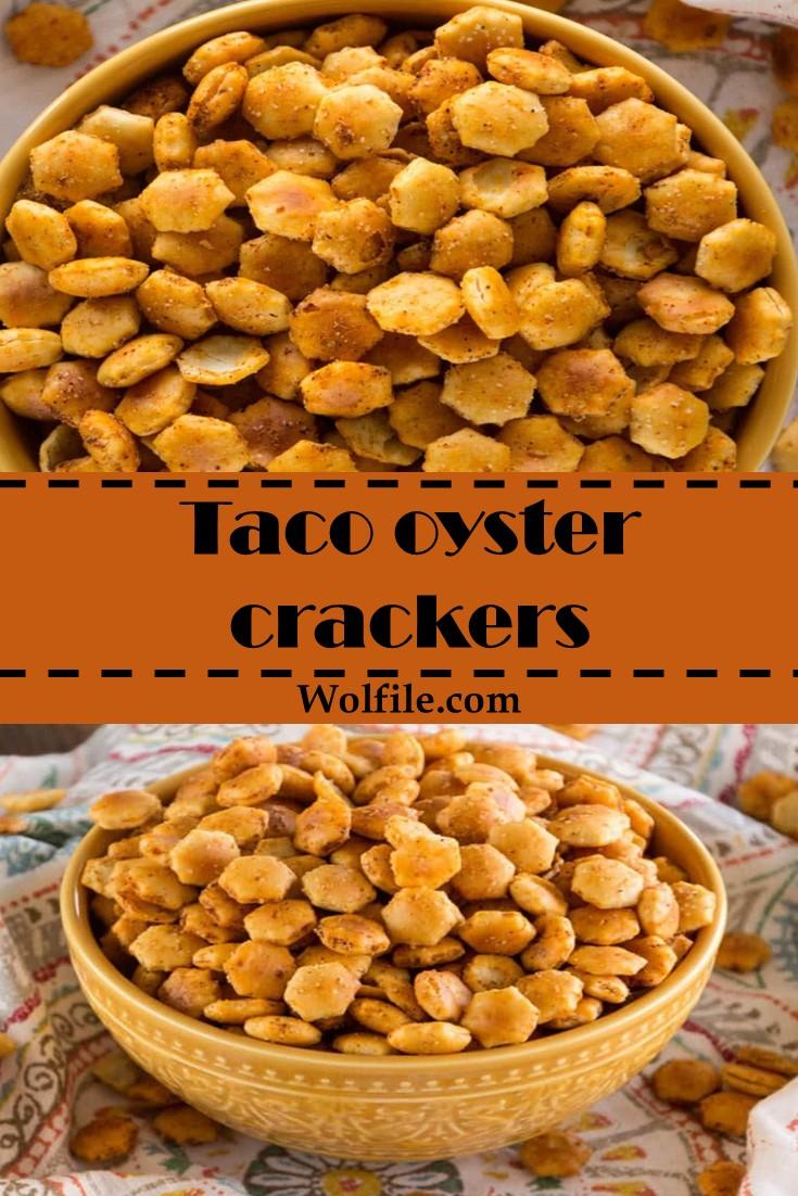 Taco Oyster Crackers Recipe