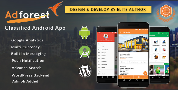 AdForest v1 8 1 - Classified Native Android App - Free Full
