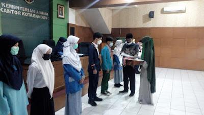 MTs. Al-Islam Bandung Miliki Siswa Berprestasi Di Bidang Sains