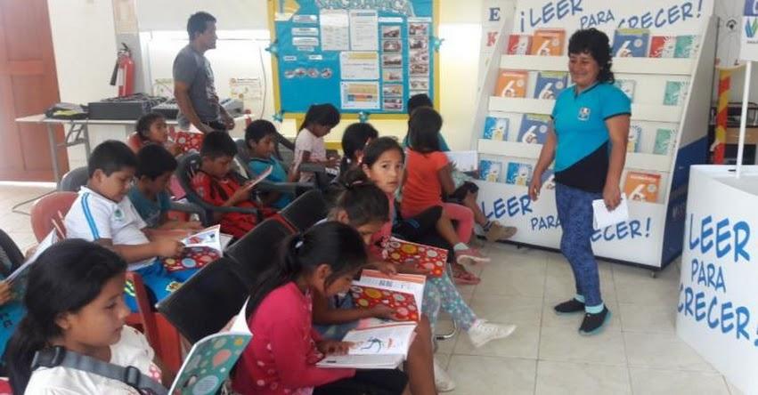 Donarán cerca de 4 mil libros a colegios de Tocache en la región San Martín