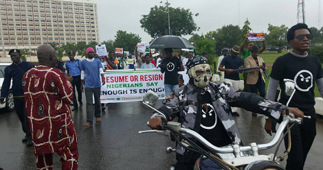 Buhari return or resign and go home - Groups demand