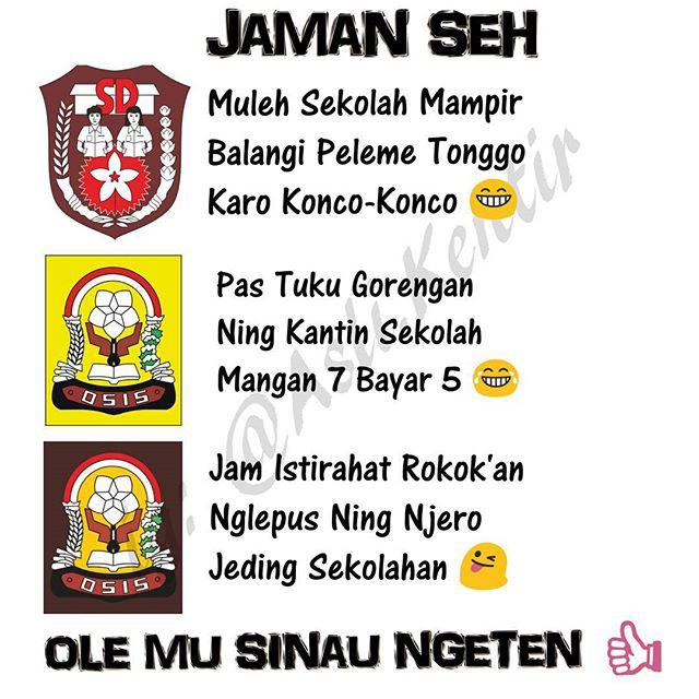 Related to Gambar Kata Kata Lucu Bahasa Jawa - gambarfoto.co