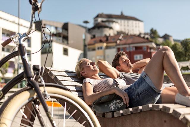Radfahrer im Kufsteiner Land