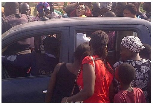 Nollywood Actress Mercy Aigbe narrates stunning crash with the Nigeria Police in Oshogbo.