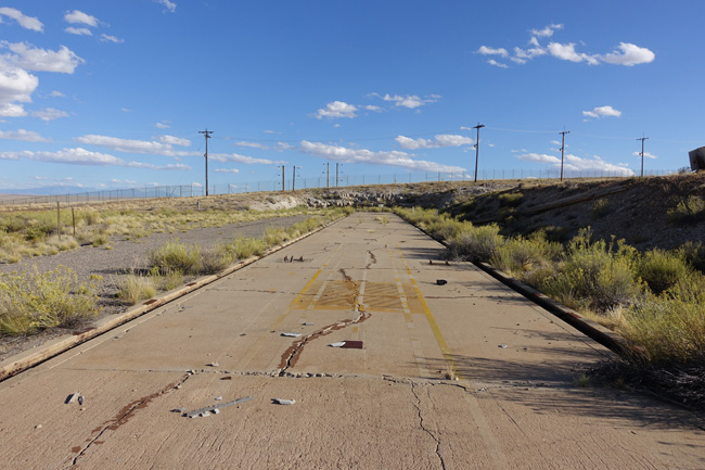 Green River Launch Complex Abandoned Military Base in UT