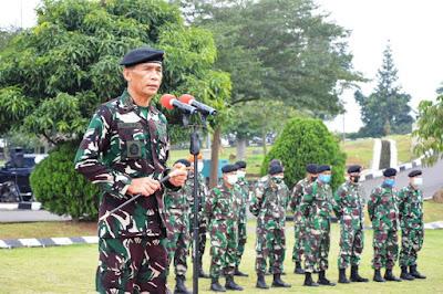 187 Prajurit TNI Kontingen Garuda UNIFIL Dianugerahi Medali Satya Lencana Santi Darma