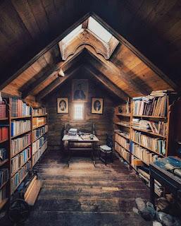 Library in the Faroe Islands