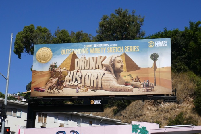 Drunk History season 6 Emmy nominee billboard