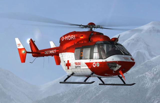 MBB-Kawasaki BK 117 helicopter