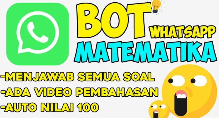 Nomor Bot Matematika WhatsApp