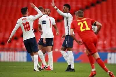 ملخص واهداف مباراة انجلترا وبلجيكا (2-1) دوري الامم الاوروبيه
