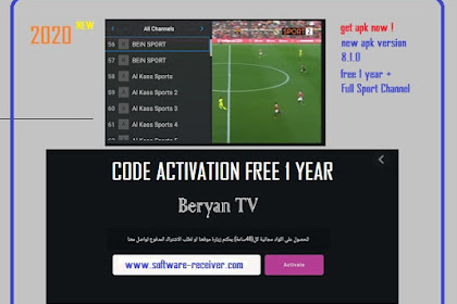 Code Activation Beryan TV plus - News Sport Channel - Free 1 Year