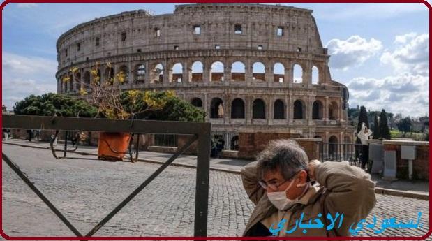 إيطاليا تحظر السفر غير الضروري في اطار قيودها الصارمة لمنع تفشي كورونا.