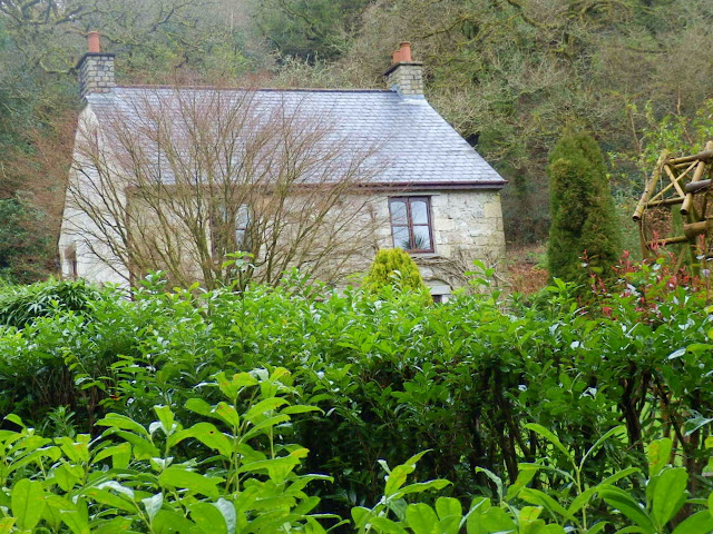 House hidden away in Gover Valley, Cornwall