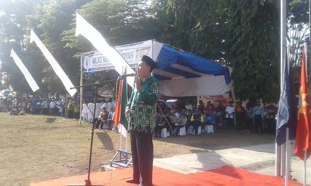 Ketua PDM Jember Beri Amanat Milad 107 Di Depan Ribuan Warga