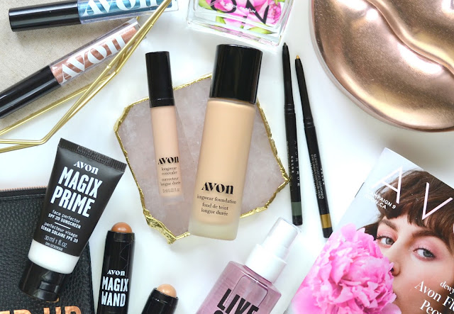 Avon Cashmere Complexion Foundation and Concealer