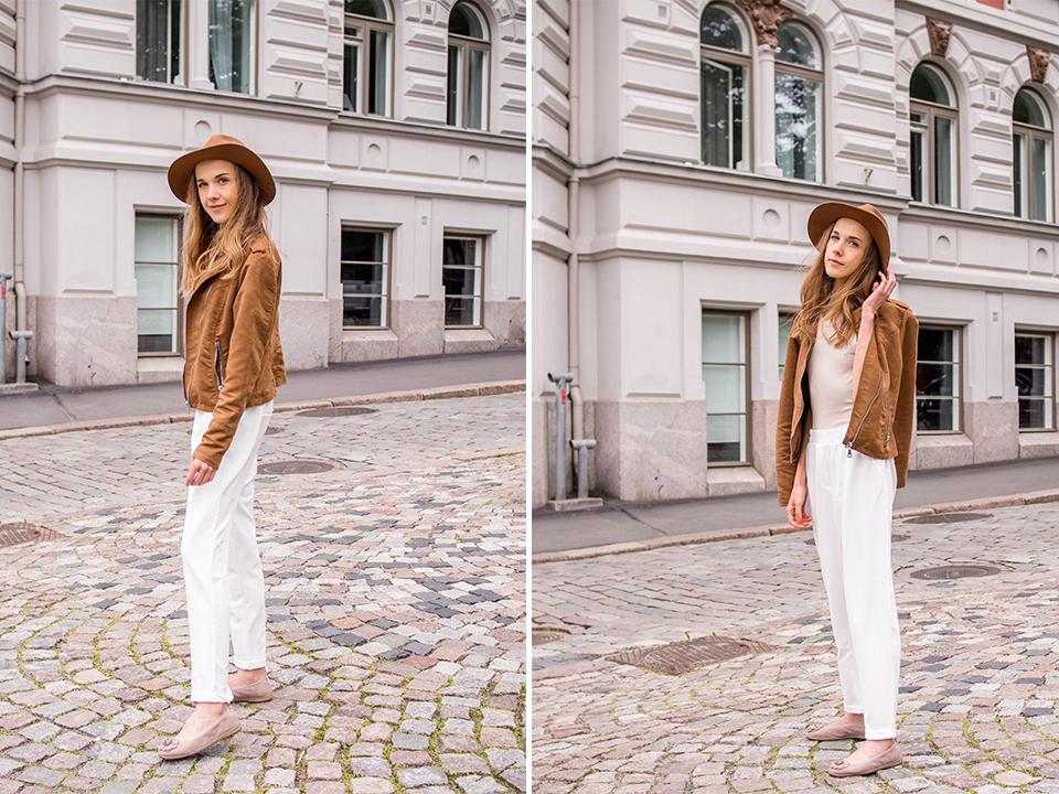 Fashion blogger outfit inspiration, summer to autumn transition - Muotibloggaaja, asuinspiraatio, välikausipukeutuminen kesästä syksyyn