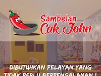 lowongan kerja waiters sambel cak john surabaya