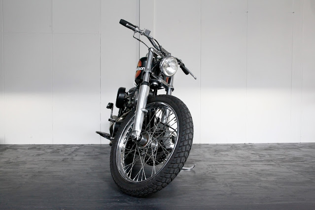 Harley Davidson Shovelhead By Pancake Customs Hell Kustom