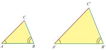 Dua pasang sudut yang bersesuaian sama besar
