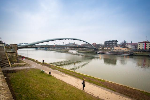 Ponte Father Bernatek's-Podgorze-Cracovia