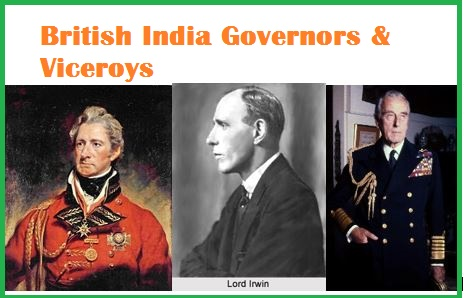 British India History Questions-Dalhousie,Irwin,Mountbatten