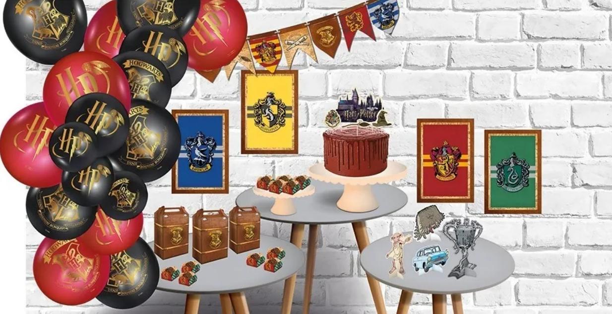 Kit Festa Harry Potter