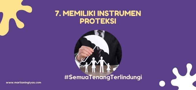 memiliki instrumen proteksi