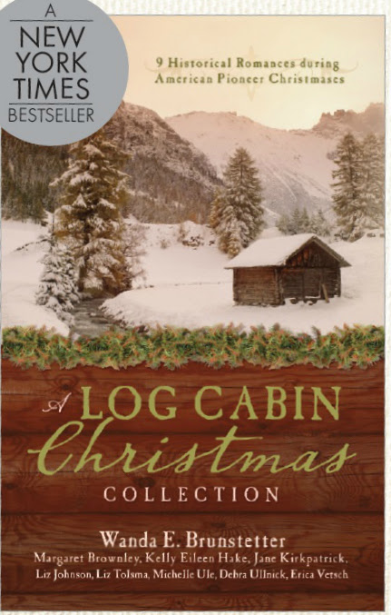 Log Cabin Christmas Author Basket Giveaway