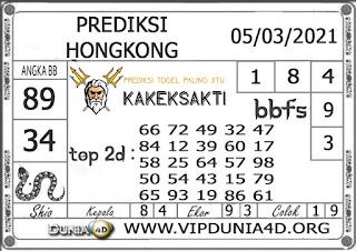 Prediksi Togel HONGKONG DUNIA4D 05 MARET 2021