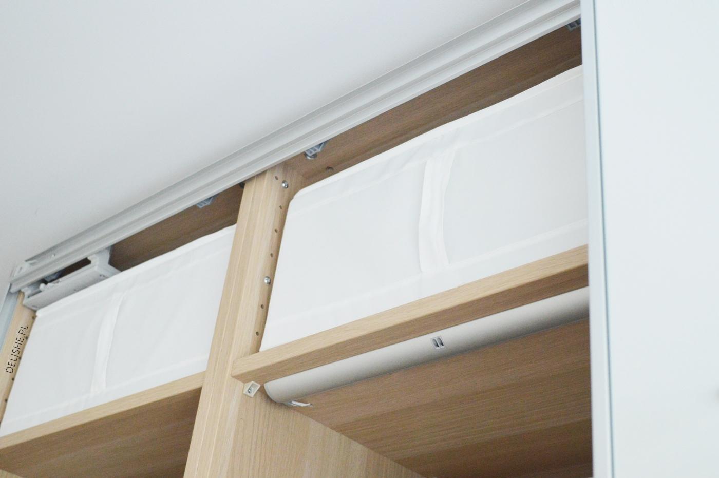 ikea organizacja szafy pojemniki