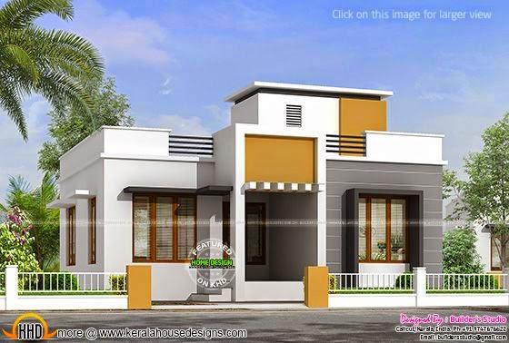 850 sq-ft one floor house