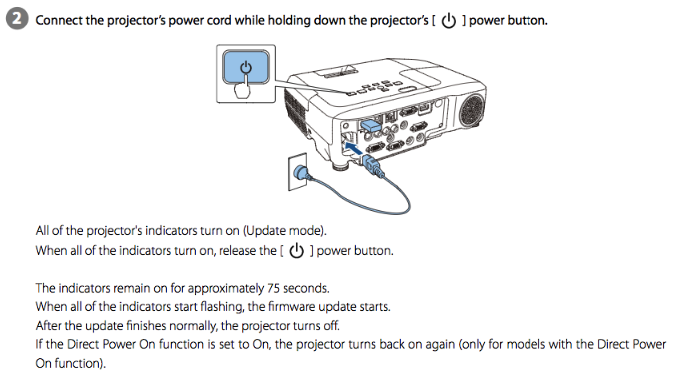 How to Download and Install Epson PowerLite Pro Z11000W Firmware