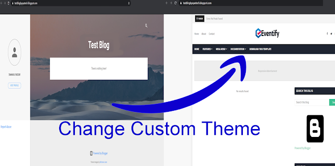 how to add custom Theme/Templates on blogger?