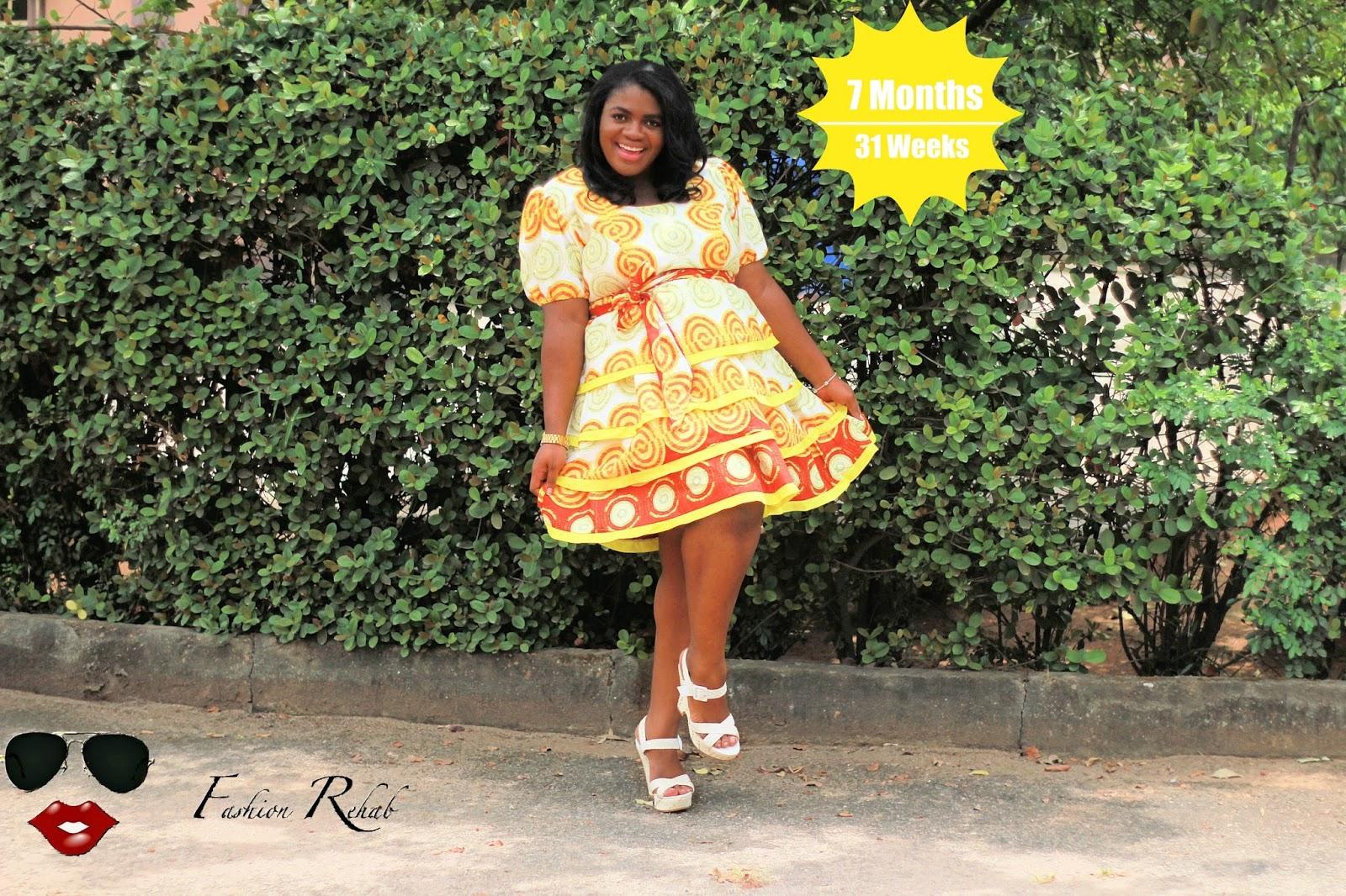 12 Beautiful Ankara Styles For Pregnant Women Beautiful