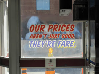 Our Prices Aren't Just Good They're Fare.