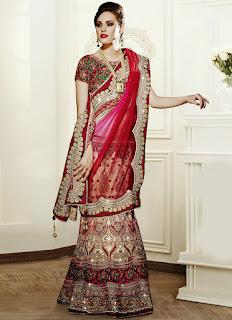 Fantastic-indian-wedding-bridal-designer-lehengas-sarees-7