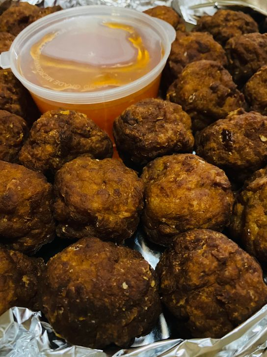 Hotdish premium meatballs