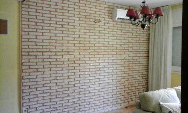 Panneaux Brique XL Blanc Antique