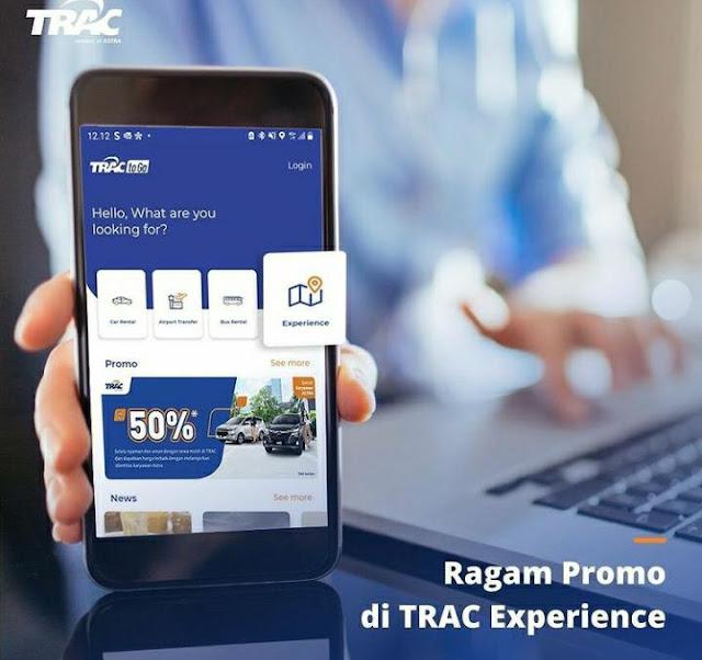 TRAC To Go rental mobil aman nyaman